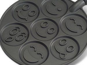 Pancakes als SmileyGesichter